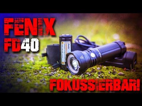 Fenix FD40 1000 Lumen LED Taschenlampe - Review Test EDC (german/deutsch) Cree XP-L
