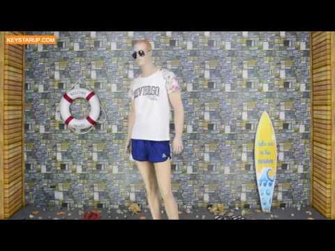Men swim board shorts wholesale running shorts in swimwear BST0272