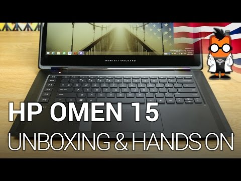 HP Omen 15 gaming notebook unboxing and hands on [ENGLISH]