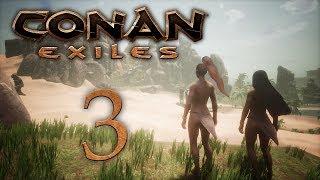 Conan Exiles — прохождение игры на русском — Сложности строительства [#3] | PC