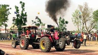 Swaraj 855 vs Arjun 605 Tractor Tochan Punjab