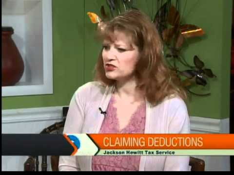 Tax deductions with Jackson Hewitt Tax Service