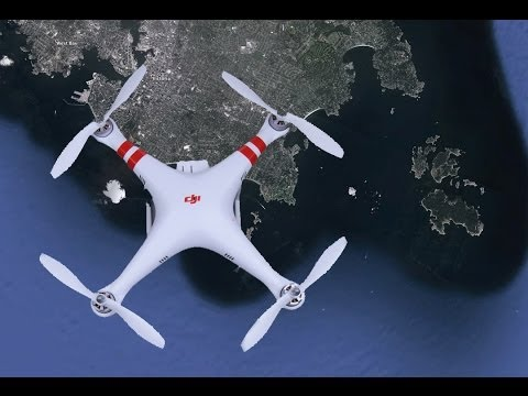 Gone in 45 seconds..Bye Bye Phantom Quadcopter over the ocean