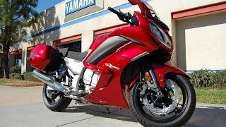5. 2014 Yamaha FJR 1300 ES Red