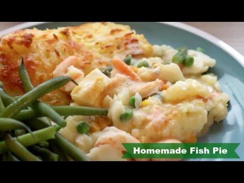 Homemade Fish Pie Recipe