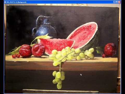 still life painting tutorial