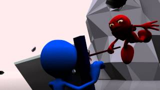 Red Vs Blue 3D Animation