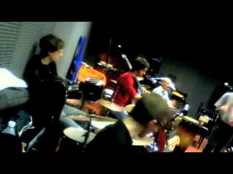 African Symphony for Improvisers – rehearsel session