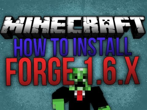 Minecraft : How to Install Forge Modloader 1.6.4 [WORKING]