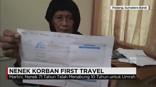 Korban penggelapan dana umroh oleh pemilik First Travel, datang dari beragam kalangan.Bahkan seorang nenek yang bertahun-tahun menabung dari menjual telur puyuh, harus merasakan nasibnya, terkatung-katung tak jadi berangkat ke tanah suci.Ikuti berita terbaru di tahun 2017 dengan kemasan internasional berbahasa Indonesia, dan jangan ketinggalan breaking news 2017 dengan berita terakhir dan live report CNN Indonesia di https://www.cnnindonesia.com dan channel CNN Indonesia di Transvision. Follow & Mention Twitter kami :@myTranstweet@cnniddaily@cnnidconnected @cnnidinsight @cnnindonesia Like & Follow Facebook:CNN IndonesiaFollow IG: cnnindonesia