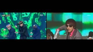 Download Video BTS 방탄소년단 & Rain 비 - Rainism 레이니즘 comparison MP3 3GP MP4