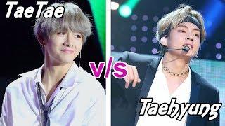 Video BTS TAETAE VS TAEHYUNG MP3, 3GP, MP4, WEBM, AVI, FLV April 2018
