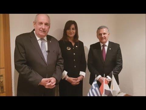 Δηλώσεις Υπουργών Διασποράς, στη Σύνοδο Κορυφής της Κρήτης