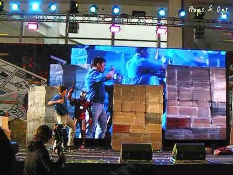Thailand Comic Con Cosplay Performance Contest Team 08 – Iron Man
