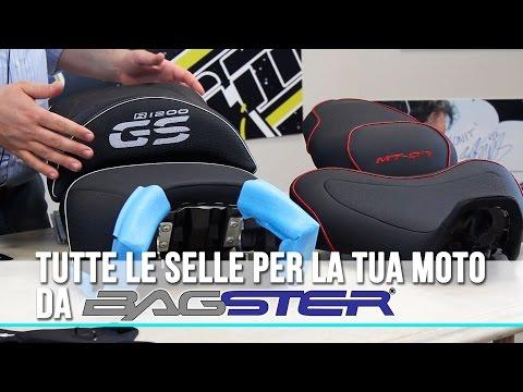Selle e Copri Serbatoio da Moto - Bagster