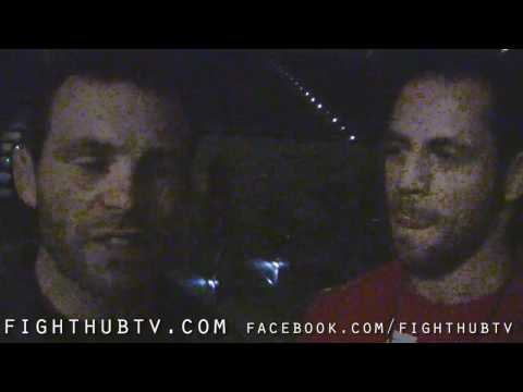 Jens Pulver and Gabe Ruediger talk his fight wJoe Lauzon at UFC 118
