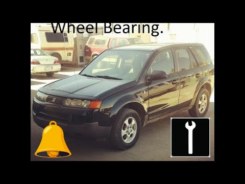 How to change a front wheel bearing 2002 - 2007 Saturn Vue