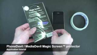 MediaDevil Magicscreen Installation YouTube Video