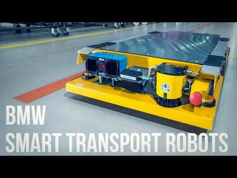 BMW Smart Transport Robots (видео)