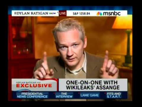 Julian Assange says Sarah Palin-Interview w/ Cenk Uygur