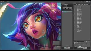 Neeko Animated Illustration - League of Legends - Timelapse [Fanart]