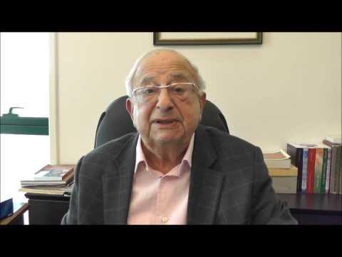 Saludos del Sr. Itzjak Navon por el 1º Dia Internacional del Ladino en el evento en Dallas