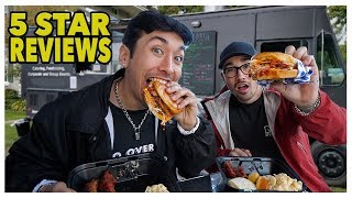 Video Eating At The BEST Reviewed Food Truck In My City (5 Star) MP3, 3GP, MP4, WEBM, AVI, FLV Maret 2019