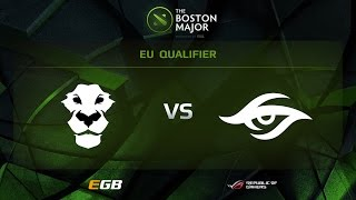 Secret vs AD Finem, Game 1, Boston Major EU Qualifiers