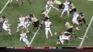 Josh Evans vs Vanderbilt (2012)