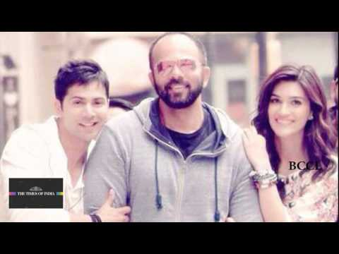 Varun Kriti's song axed from Dilwale
