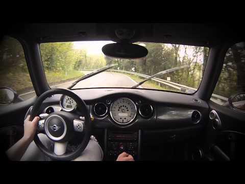 Mini JCW quick test drive (onboard) (видео)