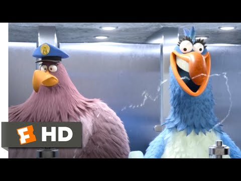 The Angry Birds Movie 2 (2019) - Bathroom Heist Scene (6/10) | Movieclips