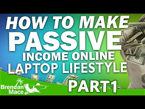 Passive Online Income the Lazy Man's Way