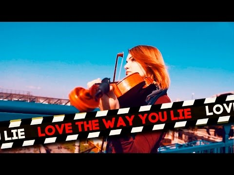 "Eminem  ""Love The Way You Lie"" feat. Rihanna Cover by Anastasia Soina"