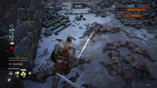 For Honor beta...squad gank