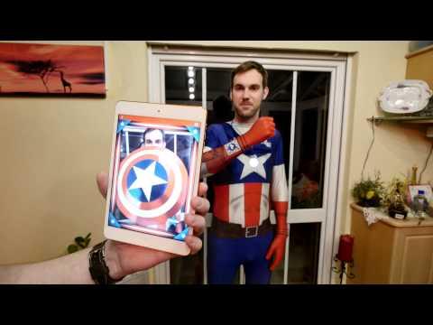 Morphsuits Captain America Karneval [4K Deutsch]