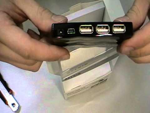 Belkin USB Mobil Hub [Unboxing]