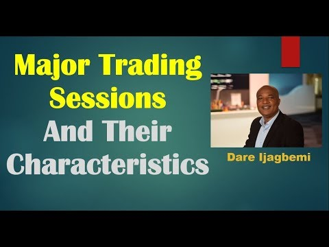 Major Trading Sessions And Their Characteristics