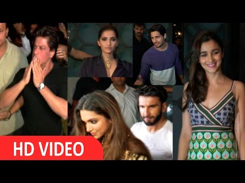 Shah Rukh Khan, Alia Bhatt & Many More Celebs At Attend Filmfare Editor Jitesh Pillai Birthday Party