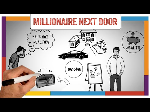 Watch 'The Millionaire Next Door Summary & Review (Thomas Stanley) - ANIMATED - YouTube'