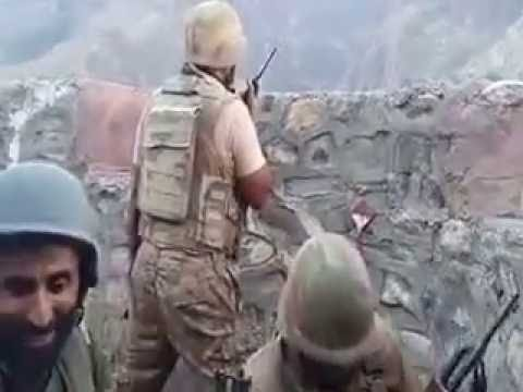Pakistan Army returning Fire at Torkham Border