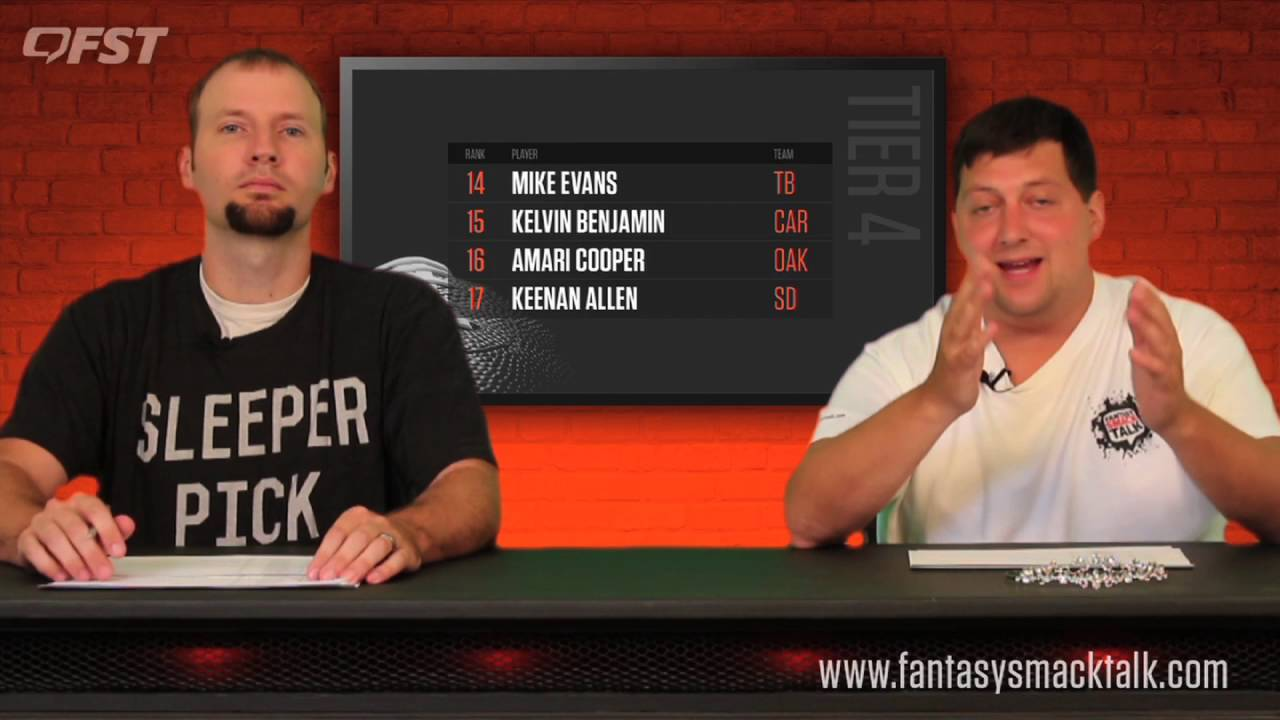 2016 Fantasy Football Wide Receiver Tiers and Rankings thumbnail