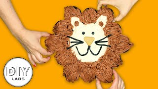 LION Pull-Apart Cake | Lion King Birthday Party | DIY Labs
