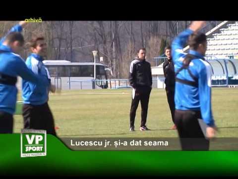 Lucescu jr. și-a dat seama