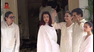 Download Video Karishma Kapoor Upset On Aishwarya Rai At Karishma's Grand Mother Krishna Raj Kapoor Funeral MP3 3GP MP4