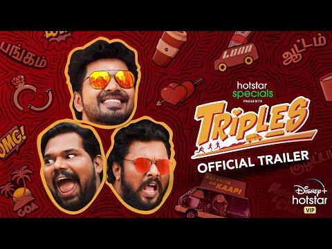 Triples | Official Trailer | Karthik Subbaraj | Jai | Vani Bhojan | Streaming from December 11