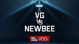 Vici Gaming vs NewBee, ESL One Genting Quals, game 1 [Lex, 4ce]