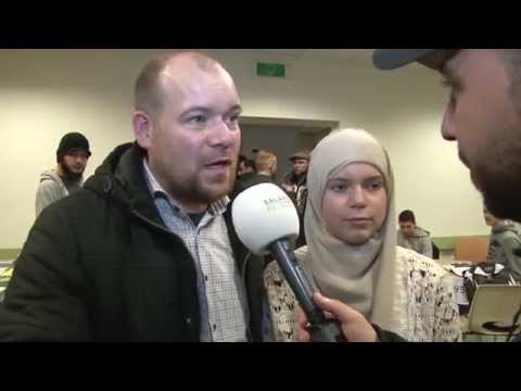 | Salaheddine bezoekt de Nationale Bekeerlingendag