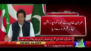 Imran Khan Address To Nation #IKaddressesNation