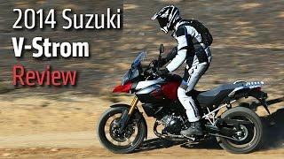 6. 2014 Suzuki V-Strom EXPERT Bike Review & More | Top Speed